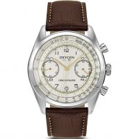 Oxygen Fangio Herenchronograaf Creme L-CH-FAN-41