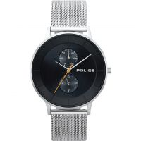 Police BERKELEY Herenhorloge Zilver 15402JS/02MM