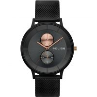 Police BERKELEY Herenhorloge Zwart 15402JSB/61MM
