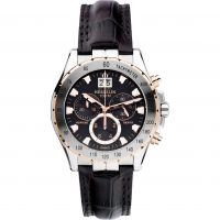 homme Michel Herbelin Newport Trophy Chronograph Watch 36675/TR14MA