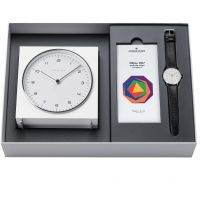 homme Junghans Max Bill 2017 Edition Clock Gift Set Alarm 363/2715.00