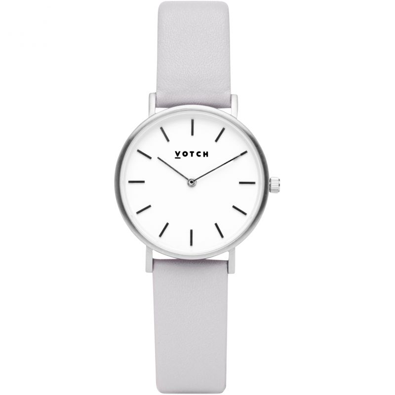 Ladies Votch 33mm Petite Light Grey and Silver Watch