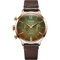 unisexe Welder The Moody 38mm Dual Time Watch K55/WWRC111
