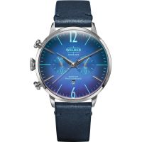Welder The Moody 45mm Dual Time Unisexklocka Blå K55/WWRC303