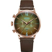 Welder The Moody 45mm Dual Time Unisexklocka Brun K55/WWRC314
