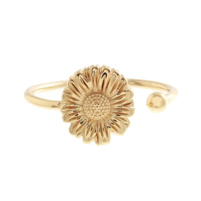 Ladies Olivia Burton Gold Plated Daisy Open Ended Ring OBJ16DAR03