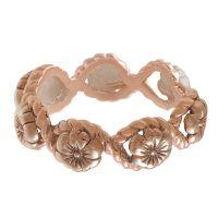 femme Olivia Burton Jewellery Floral Charm Watch OBJ16FSR05