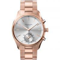 Unisex Kronaby Sekel 43 Bluetooth Hybrid Alarm Watch A1000-2745