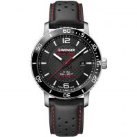 Wenger Roadster Black Night Herenhorloge Zwart 011841101