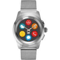 Herren MyKronoz ZeTime Elite Bluetooth Smartwatch with Silver Milanese Petite Watch 122908