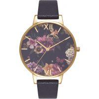 femme Olivia Burton Dark Bouquet Watch OB16EG78