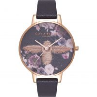 Femmes Olivia Burton Embroidered Dial Montre