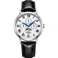 Rotary Windsor Moonphase Herrklocka GS05325/01