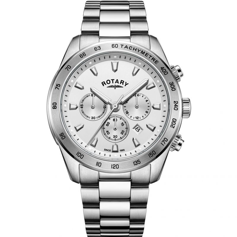 Mens Rotary Henley Chronograph Watch
