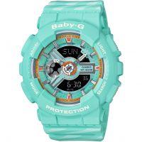 femme Casio Baby G Chance Alarm Chronograph Watch BA-110CH-3AER