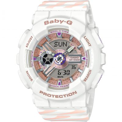 Casio Baby G Chance Alarm Chronograph Watch BA-110CH-7AER