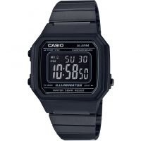 Unisex Casio Vintage Alarm Chronograph Watch B650WB-1BEF