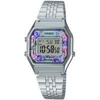 Damen Casio Classic Floral Watch LA680WEA-2CEF