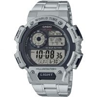 Casio Classic World Time Alarm Chronograph Watch