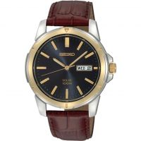 Herren Seiko Solar Powered Watch SNE102P9