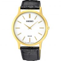Mens Seiko Solar Powered Watch SUP872P1