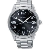 Herren Seiko Solar Powered Watch SNE471P1