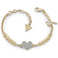 Ladies Guess Gold Plated Cupid Bracelet