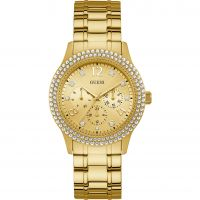 Damen Guess Bedazzle Watch W1097L2