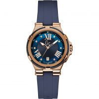 Damen Gc Structura Cable Watch Y34001L7