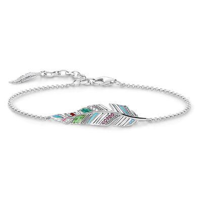 Thomas Sabo Feather Bracelet A1749-340-7-L19V