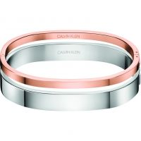 femme Calvin Klein Jewellery Hook Close Set Of 2 Bangles Watch KJ06PD20020M