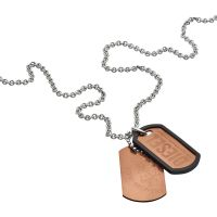 homme Diesel Jewellery Double Dogtags Watch DX1096040