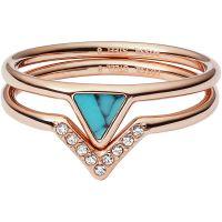 Fossil Jewellery Ring Size S JEWEL JF02645791510
