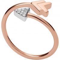 femme Fossil Jewellery Ring Size K Watch JFS00429998503