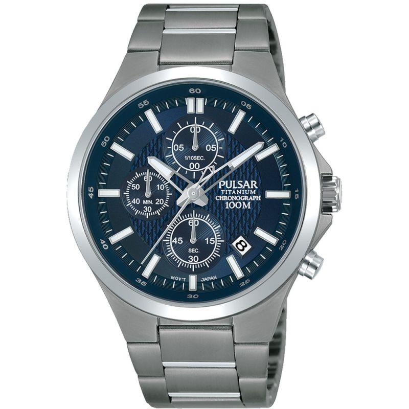 Pulsar Titanium Watch