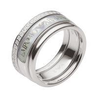 Emporio Armani Jewellery Ring Size P JEWEL EG3344040508