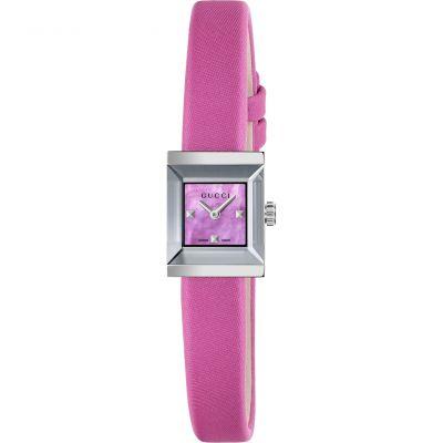 Ladies Gucci G-Frame Square Watch YA128533