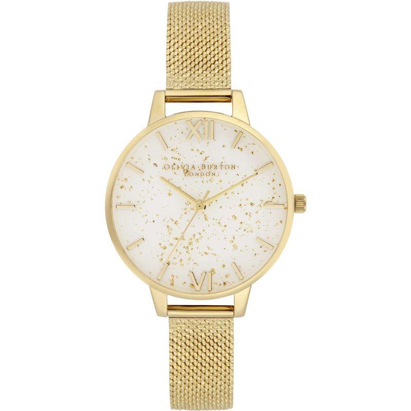 Celestial Silver & Gold Watch