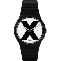Swatch XX - RATED BLACK Watch