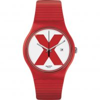 Swatch XX - RATED RED Watch