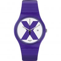 Swatch XX- RATED PURPLE Watch