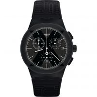 Swatch X-DISTRICT BLACK Watch