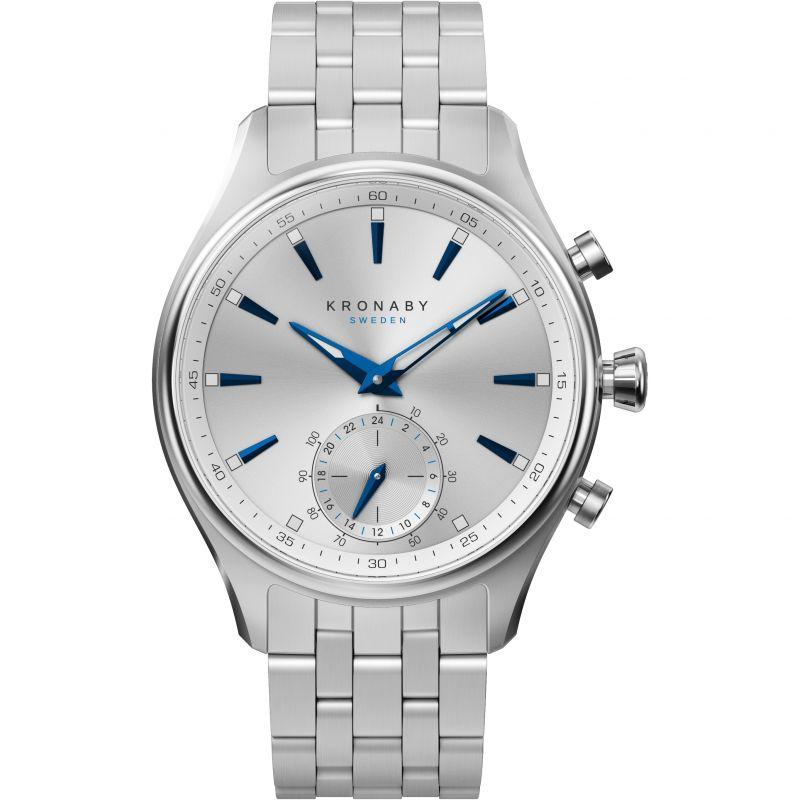 Mens Kronaby Sekel 41 Bluetooth Hybrid Watch
