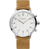 Unisex Kronaby Nord 41 Bluetooth Hybrid Watch A1000-3128