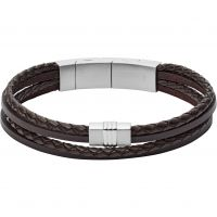 Fossil Herr Vintage Casual Bracelet Leather JF02934040