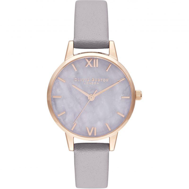 Midi Amethyst Lilac & Rose Gold Watch