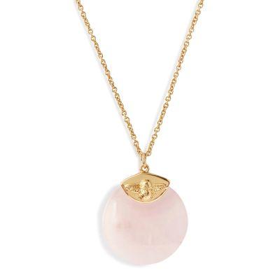 Ladies Olivia Burton Gold Plated Semi Precious Necklace OBJ16AMN40