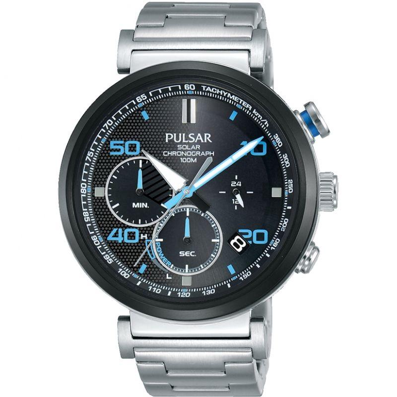 Mens Pulsar Solar Powered Watch