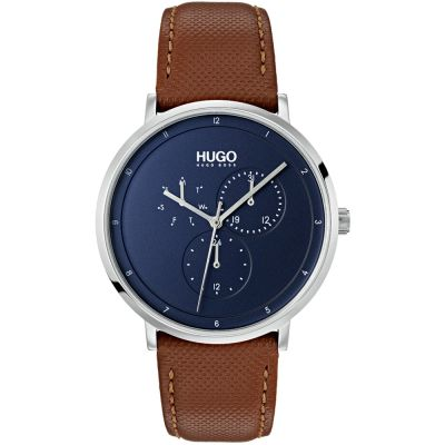 HUGO #GUIDE #Guide Herrenuhr in Braun 1530032