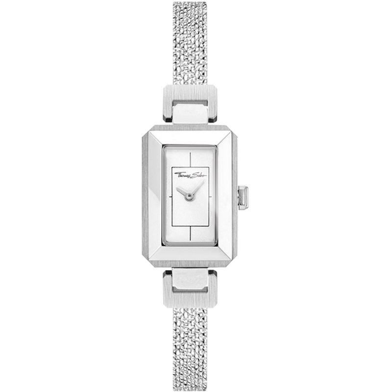 Glam & Soul Mini Vintage Silver Watch